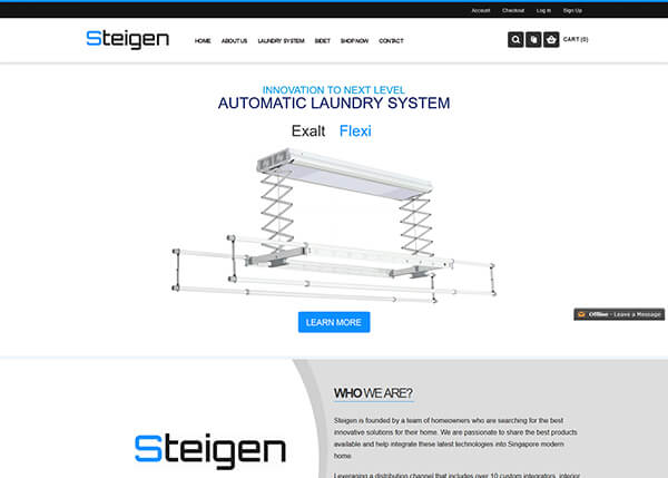 steigen-web-design